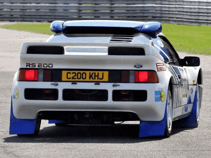 1986 Ford RS200 rally 22