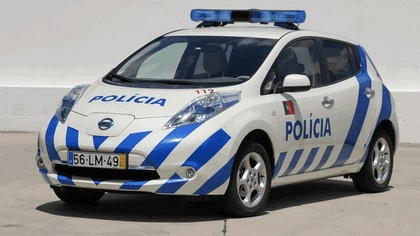 2012 Nissan Leaf - Portuguese Police 1