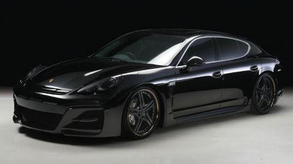 2012 Porsche Panamera ( 970 ) S Black Bison by Wald 7