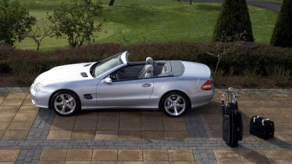 2006 Mercedes-Benz SL with golf collection 2