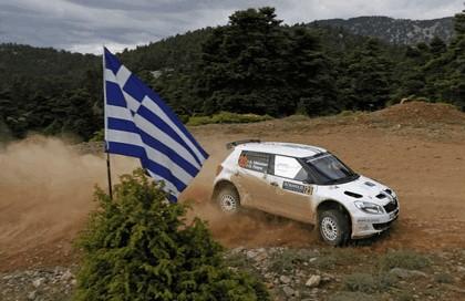 2012 Skoda Fabia S2000 - rally of Acropolis 6