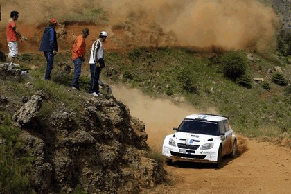 2012 Skoda Fabia S2000 - rally of Acropolis 11