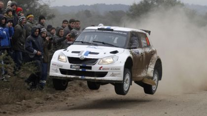 2012 Skoda Fabia S2000 - rally of Acropolis 8
