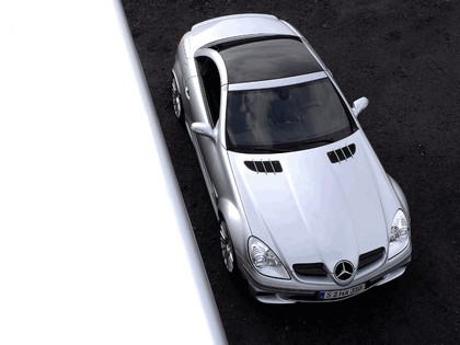 2006 Mercedes-Benz SLK55 AMG Black series 1