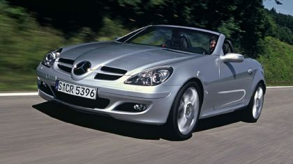 2006 Mercedes-Benz SLK200 with Sports Package 2