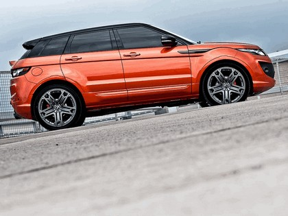 2012 Land Rover Range Rover Evoque RS250 Vesuvius Copper by Project Kahn 4