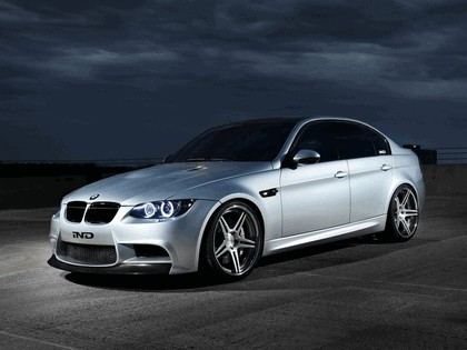 2012 BMW M3 ( E90 ) Silver Ghost by IND Distribution 1