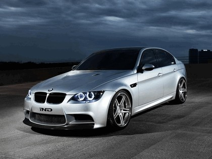 2012 BMW M3 ( E90 ) Silver Ghost by IND Distribution 2