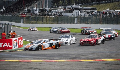 2012 McLaren MP4-12C GT3 - Spa 24 hours 7