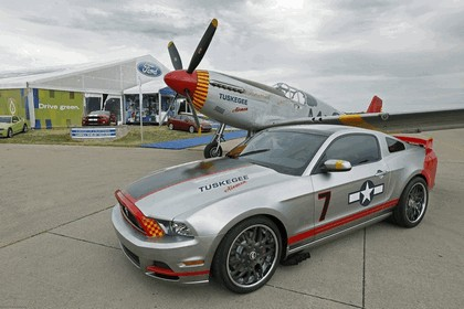 2013 Ford Mustang Red Tails 1