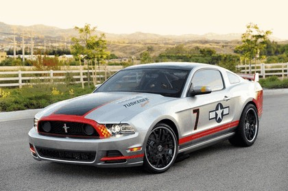 2013 Ford Mustang Red Tails 2