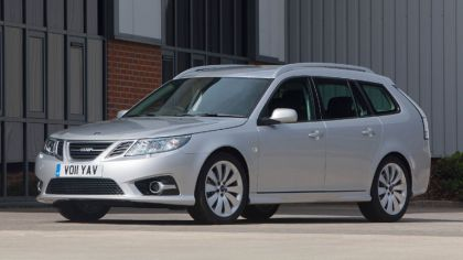 2011 Saab 9-3 Griffin Sport combi Aero - UK version 8