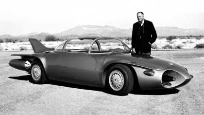 1956 General Motors Firebird II concept 1
