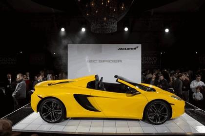 2012 McLaren 12C spider - unveiling 2