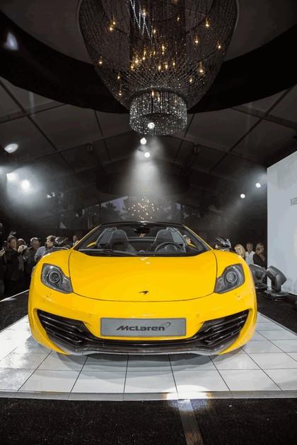 2012 McLaren 12C spider - unveiling 4
