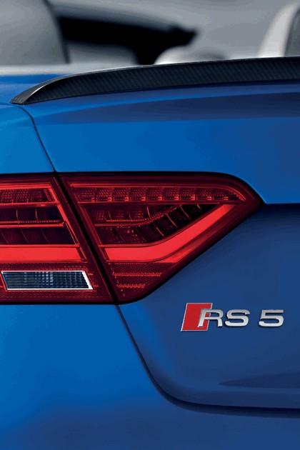 2012 Audi RS5 cabriolet 9