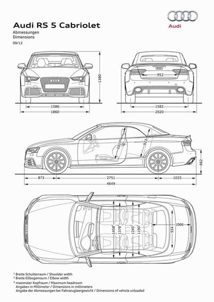 2012 Audi RS5 cabriolet 13
