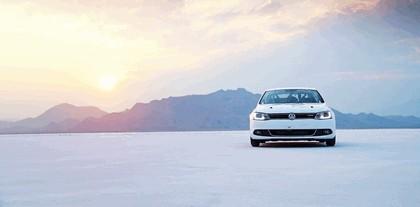 2012 Volkswagen Jetta Hybrid - Bonneville speed record car 1