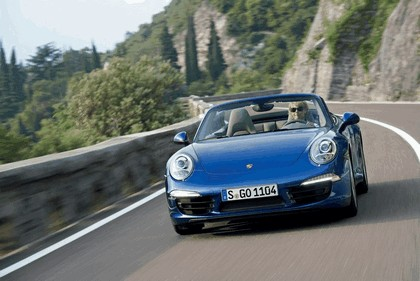 2012 Porsche 911 ( 991 ) Carrera 4 cabriolet 2