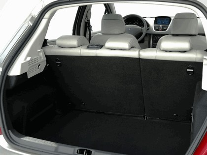 2006 Peugeot 207 5-door with panoramic sunroof 29