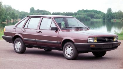 1986 Volkswagen Santana - China version 9