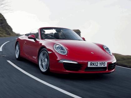2011 Porsche 911 ( 991 ) Carrera cabriolet - UK version 1