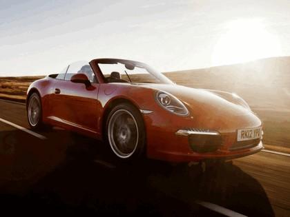 2011 Porsche 911 ( 991 ) Carrera cabriolet - UK version 2
