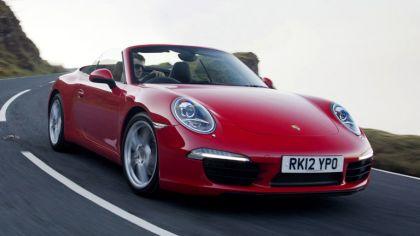 2011 Porsche 911 ( 991 ) Carrera cabriolet - UK version 3
