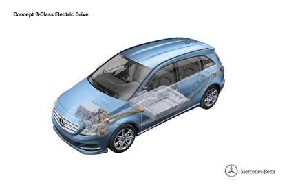 2012 Mercedes-Benz B-klasse Electric Drive concept 5