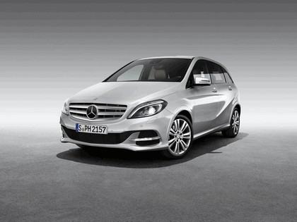 2012 Mercedes-Benz B-klasse Natural Gas Drive 1