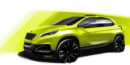 2012 Peugeot 2008 concept 8