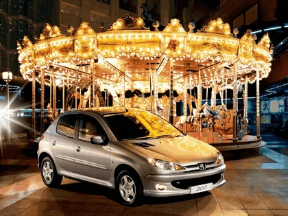 2006 Peugeot Dongfeng 206 1.6 5-door chinese version 1