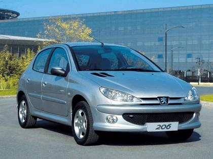 2006 Peugeot Dongfeng 206 1.6 5-door chinese version 3