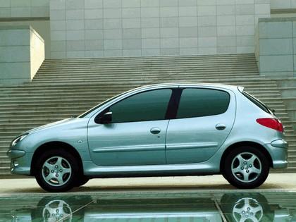 2006 Peugeot Dongfeng 206 1.6 5-door chinese version 5