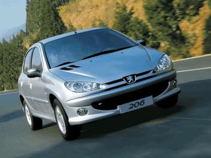 2006 Peugeot Dongfeng 206 1.6 5-door chinese version 6