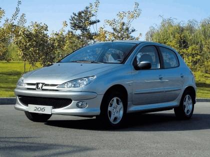 2006 Peugeot Dongfeng 206 1.6 5-door chinese version 7