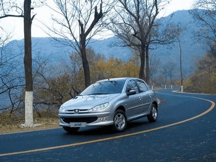 2006 Peugeot Dongfeng 206 1.6 5-door chinese version 8