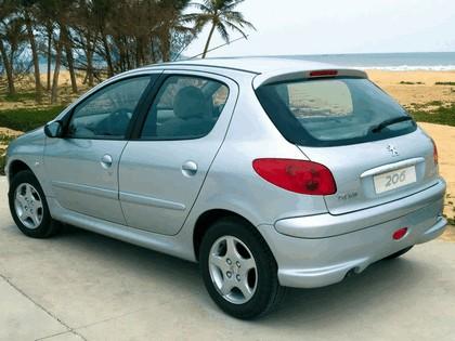 2006 Peugeot Dongfeng 206 1.6 5-door chinese version 9
