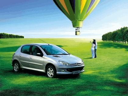 2006 Peugeot Dongfeng 206 1.6 5-door chinese version 11