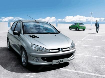 2006 Peugeot Dongfeng 206 1.6 5-door chinese version 12