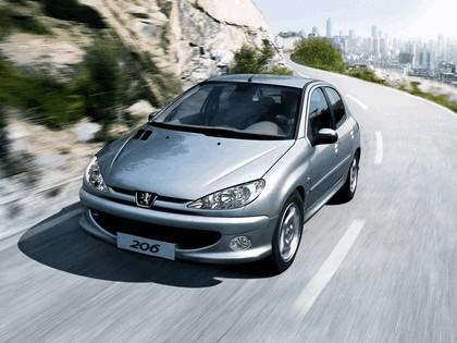 2006 Peugeot Dongfeng 206 1.6 5-door chinese version 13