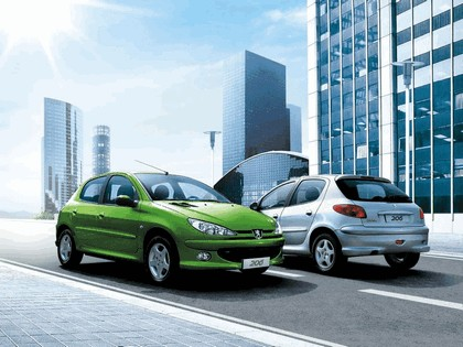 2006 Peugeot Dongfeng 206 1.6 5-door chinese version 14
