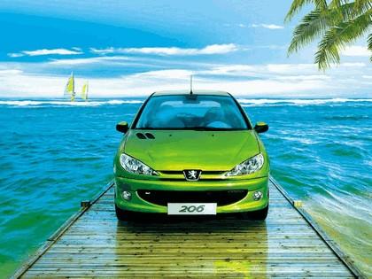 2006 Peugeot Dongfeng 206 1.6 5-door chinese version 16