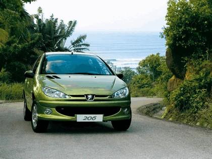 2006 Peugeot Dongfeng 206 1.6 5-door chinese version 18