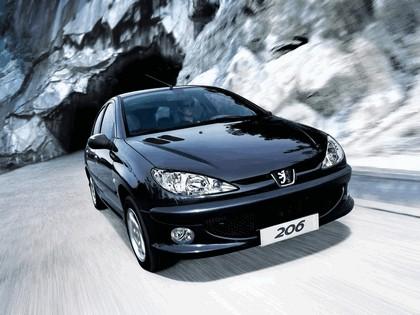 2006 Peugeot Dongfeng 206 1.6 5-door chinese version 19