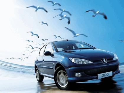2006 Peugeot Dongfeng 206 1.6 5-door chinese version 20