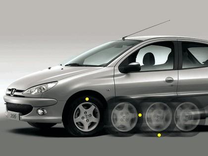 2006 Peugeot Dongfeng 206 1.6 5-door chinese version 21