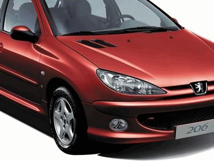 2006 Peugeot Dongfeng 206 1.6 5-door chinese version 36