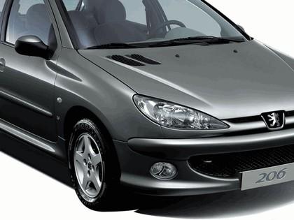2006 Peugeot Dongfeng 206 1.6 5-door chinese version 38