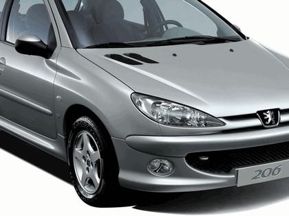 2006 Peugeot Dongfeng 206 1.6 5-door chinese version 39
